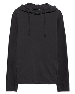 HANNES ROETHER Hood Fabric Mix Phantom Grey