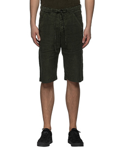 HANNES ROETHER Linen Silk Short Cap Olive