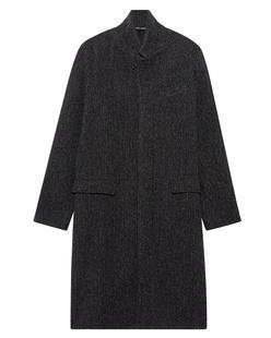 HANNES ROETHER Wool Long Grey