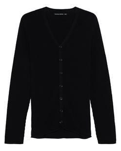 HANNES ROETHER Cotton Cashmere Knit Black
