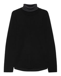 HANNES ROETHER Knit Turtleneck Black