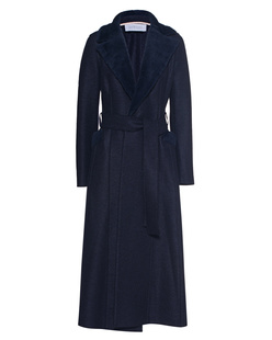 HARRIS WHARF LONDON Duster Long Navy