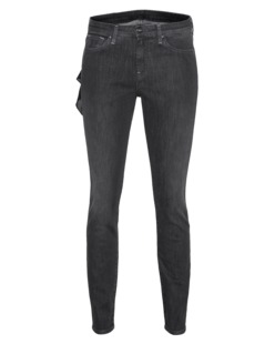 Loveday Jeans Slim Mid Grey