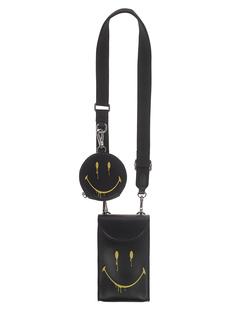 STEFFEN SCHRAUT Capsule Collection Smiley London Handy Smiley Smudge Black