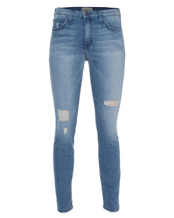 CURRENT/ELLIOTT The High Waist Ankle Skinny Blue