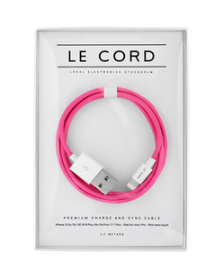 LE CORD Solid Pink