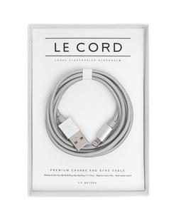 LE CORD Solid Silver