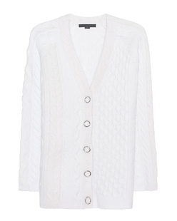 ALEXANDER WANG Cable Knit Ivory