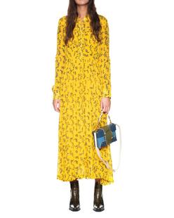 LALA BERLIN Lascarlett Flowerspray Mango Yellow