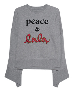 LALA BERLIN Sweater Insa Grey Melange