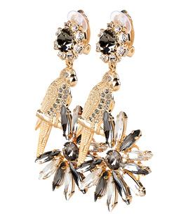 ERDEM Parrot Crystal Gold