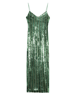 GALVAN LONDON Stargaze Slip Dress Jade