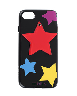 IPHORIA Mirror Red Star Black