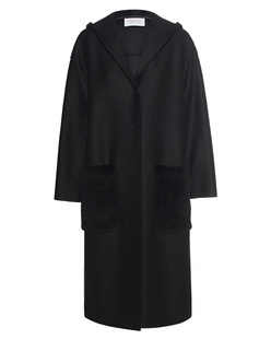 HARRIS WHARF LONDON Oversize Hooded Black