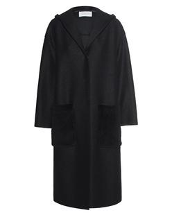 HARRIS WHARF LONDON Oversize Hooded Black