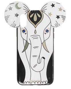 IPHORIA iPhone X/Xs Elephant Black White
