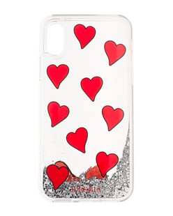 IPHORIA iPhone X/Xs Transparent Hearts