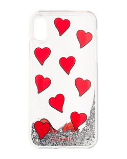 IPHORIA iPhone X/Xs Transparent Hearts