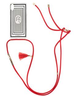 Iphoria Necklace Case Transparent 1001 NIghts Black