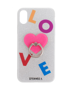 IPHORIA Case IPhone X/Xs Silver Ring
