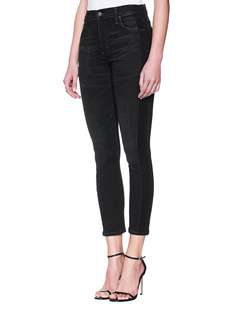 CITIZENS OF HUMANITY Rocket Crop Skinny Black