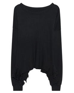 CURRENT/ELLIOTT The Slouchy Ruffle Black