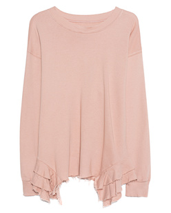 CURRENT/ELLIOTT The Slouchy Ruffle Nude