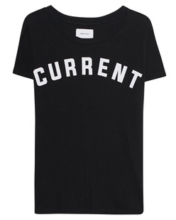 CURRENT/ELLIOTT The X Crew Neck Black