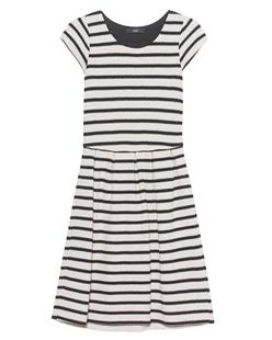 STEFFEN SCHRAUT Dress Urban Stripe Beige