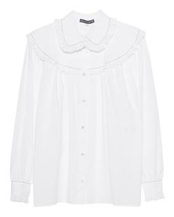AlexaChung Frill Trim Oversized White