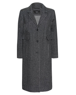 STEFFEN SCHRAUT Wool Long Anthra