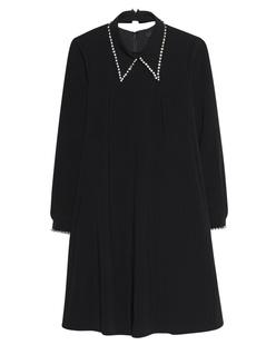 STEFFEN SCHRAUT Rhinestone Collar Black
