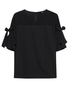 STEFFEN SCHRAUT Bow Sleeves Black