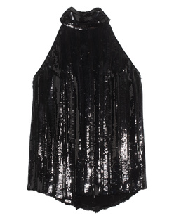 GALVAN LONDON Stardust Sash Neck Black
