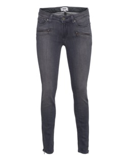 PAIGE Jane Zip Ultra Skinny Silvie No Whiskers
