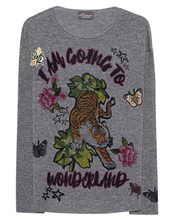 PRINCESS GOES HOLLYWOOD Print and Patches Anthracite