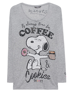 PRINCESS GOES HOLLYWOOD Snoopy Coffee Grey