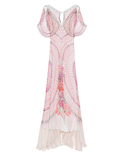 TEMPERLEY LONDON Long Dream Catcher Pomegranate Pink