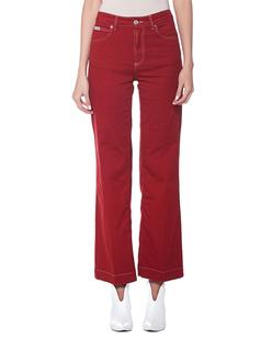 AlexaChung Wide Leg Red