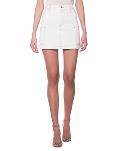 AlexaChung Patch Pocket Mini Off White