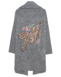 CAMOUFLAGE COUTURE STORK Tiger Back Grey