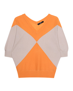 STEFFEN SCHRAUT Oversize Graphic Beige-Orange