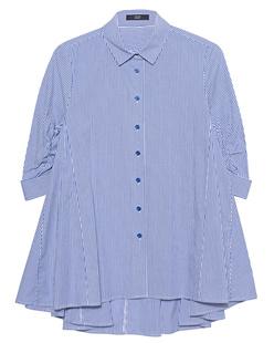 STEFFEN SCHRAUT Blouse Stripes White Blue