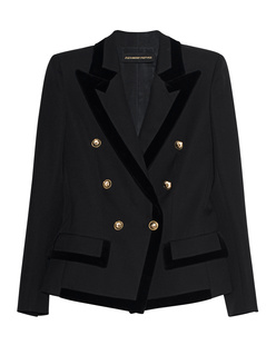 ALEXANDRE VAUTHIER Gold Button Black
