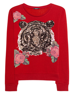 PRINCESS GOES HOLLYWOOD Tiger Sequins Red