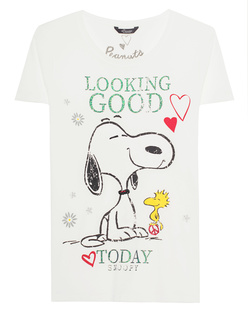 PRINCESS GOES HOLLYWOOD Peanuts Snoopy White