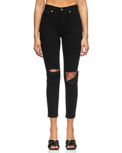 RE/DONE 90s High Rise Ankle Crop Black