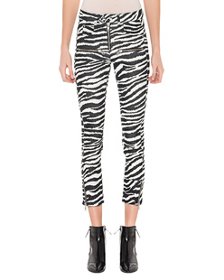 Isabel Marant Étoile Alone Zebra Black White