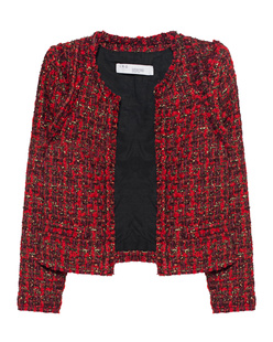 IRO Disco Glitter Tweed Red