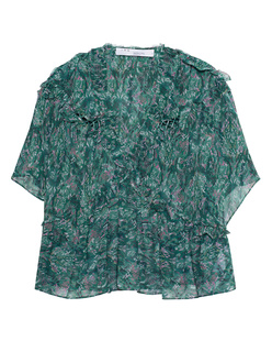 IRO Ruffled Pattern Green